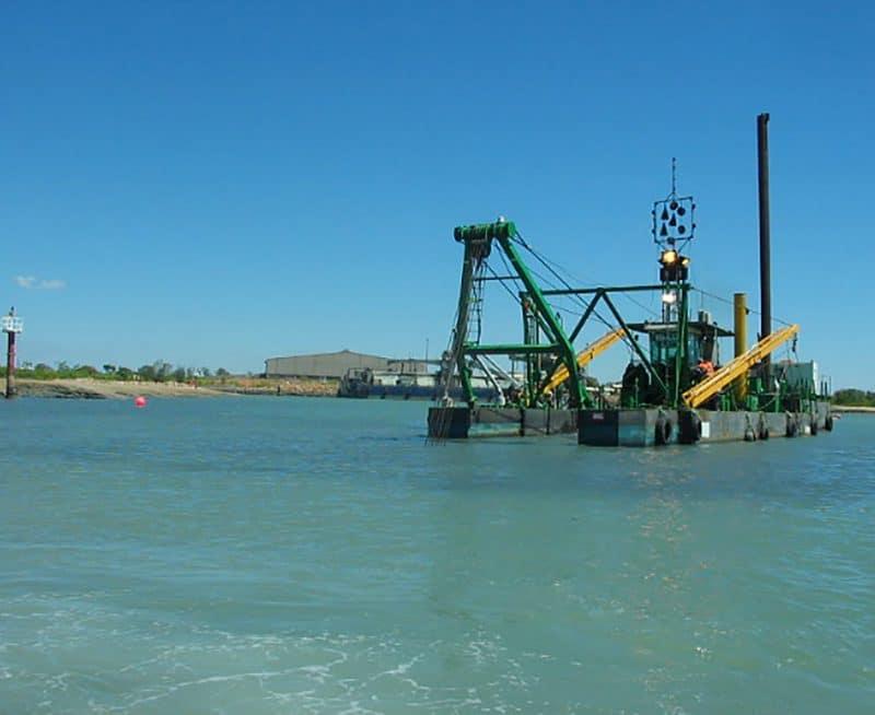 McArthur River Mine dredging