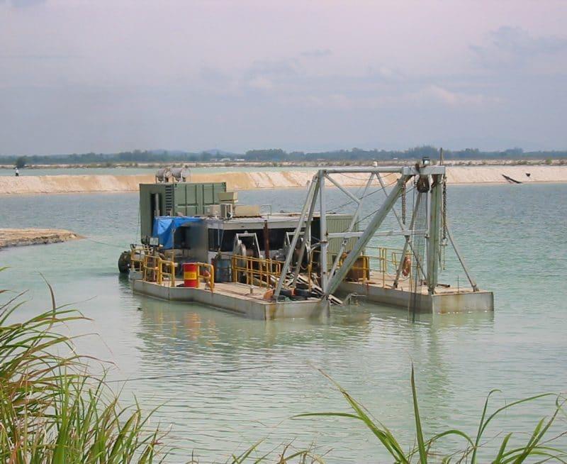 BCLP Power Plant dredging