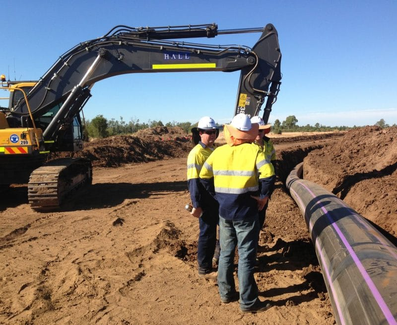 Condabri Central and Reedy Creek APLNG pipelines