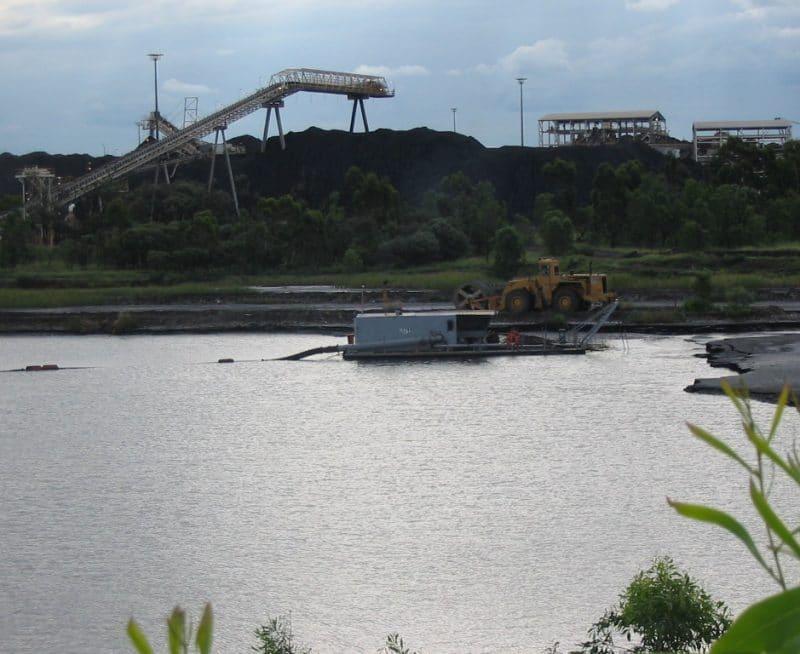 Oaky Creek Coal Mine tailings dredging